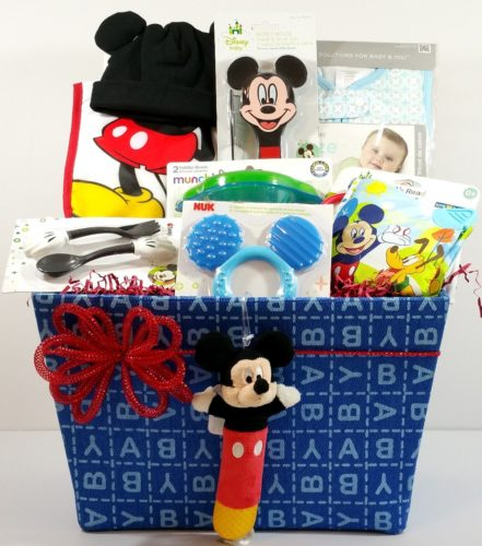 Mickey Mouse – Oh Boy! Baby Gift Basket