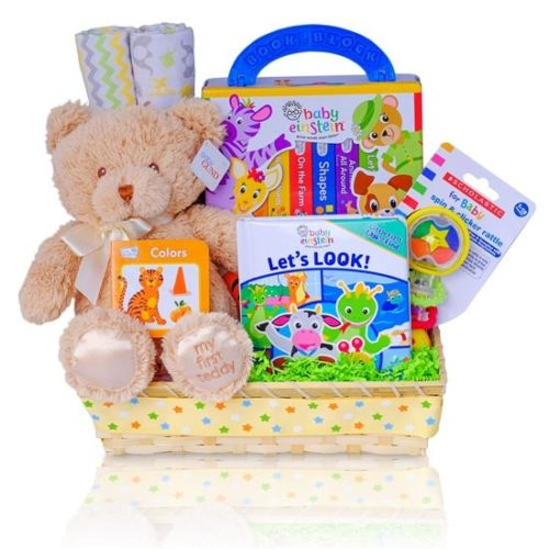Let's Read Together Baby Einstein Gift Basket