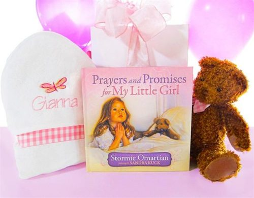 Prayers & Promises for My Little Girl Baby Gift Set