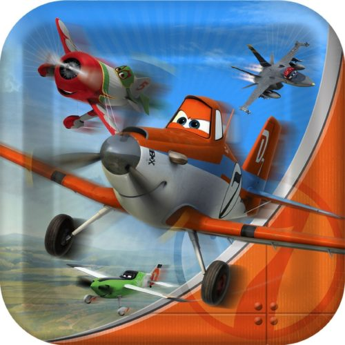 Disney Planes Boy Birthday Party Lunch Plates