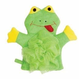 Mommy's Helper Froggie Frog Baby Bath Wash Mitt Puppet