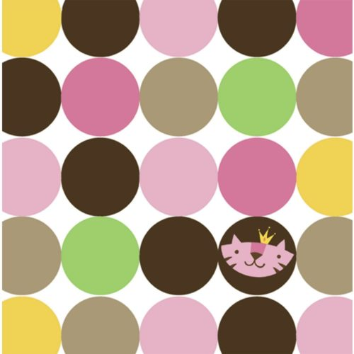 Queen of the Jungle Pink Girl Baby Shower Party Beverage Napkins