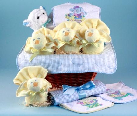Baby Boy's First Easter Holiday Gift Basket