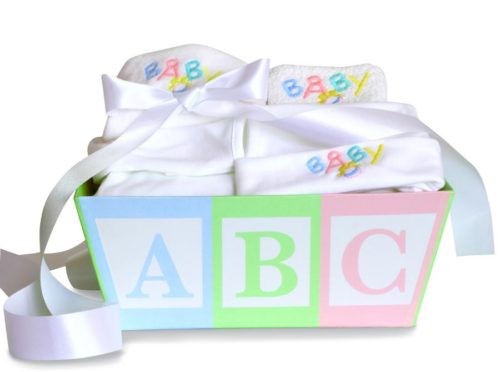 ABC New Baby Layette Gender Neutral Gift Basket