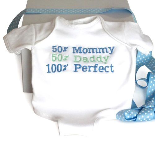 100% Perfect Baby Onesie Cotton Bodysuit - Baby Boy