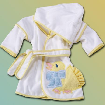 Little Duck Hooded Baby Bathrobe - Gender Neutral
