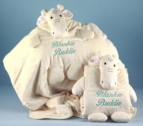 Giraffe Blankie Buddie Gender Neutral Baby Blanket