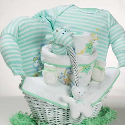 Catch a Star Gender Neutral Baby Gift Basket