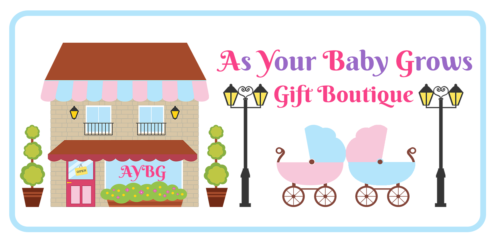 As Your Baby Grows Gift Boutique