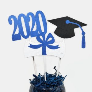 Graduation Centerpiece Sticks