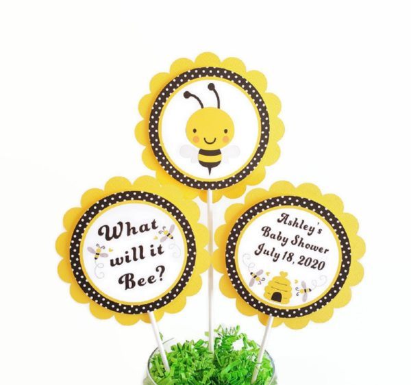 Bumble Bee Centerpiece Sticks