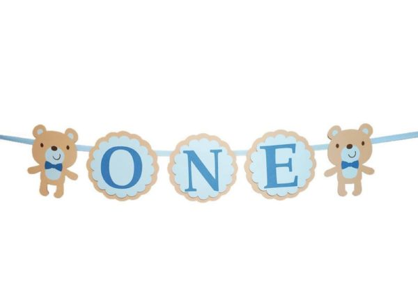 teddy bear High Chair Banner