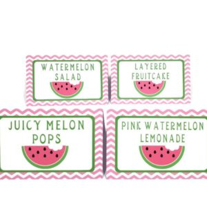 watermelon tent cards