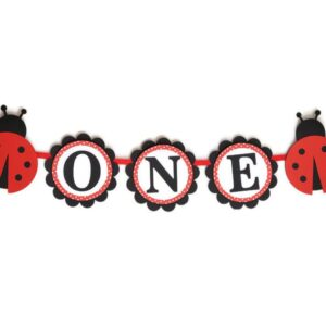 ladybug high chair banner