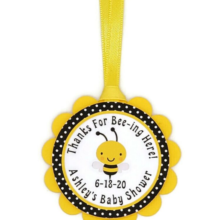bumble bee favor tags